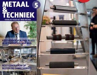 Wij staan in Metaal & Techniek magazine